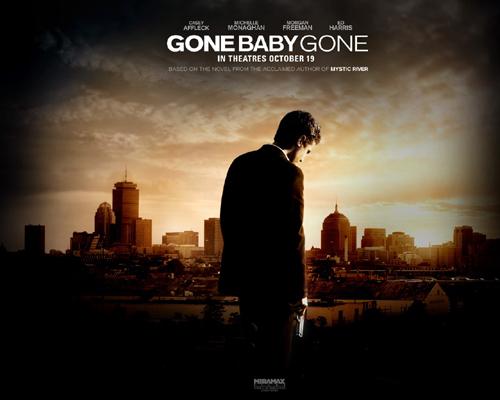 Poster bộ phim trinh thám Gone Baby Gone, đạo diễn bởi Ben Afleck
